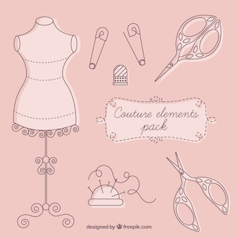 Couture elementen