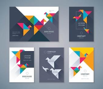 Cover-Buch-Design-Set