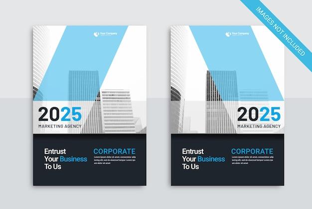 Cover business template marketing agentur