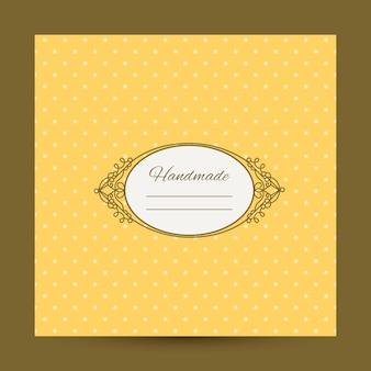 Cover design für handgemachtes album