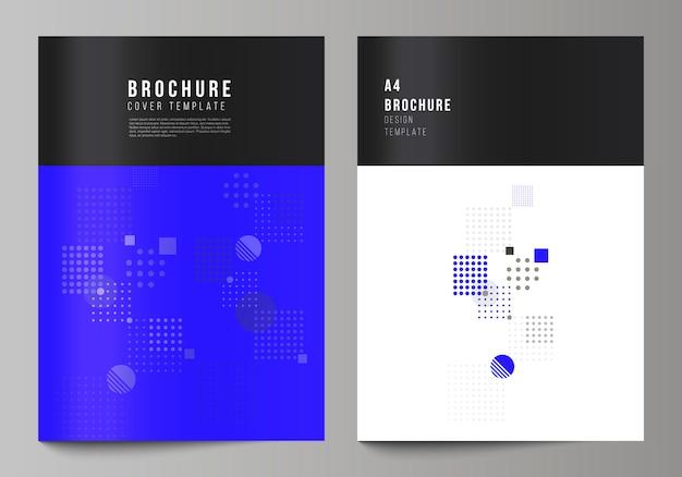 Cover-design mit abstrakten geometrischen minimalen zusammensetzung