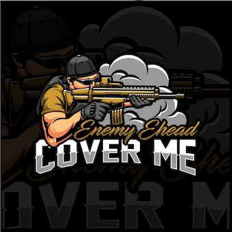 Cover me esport logo