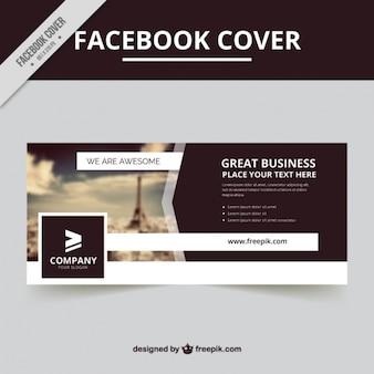 Cover mit einem unscharfen hintergrund