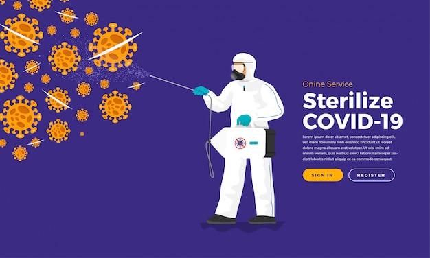 Covid sterilisieren