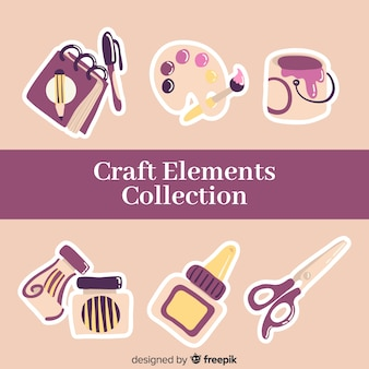 Craft-element-sammlung