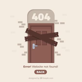 Creative 404 fehlerkonzept