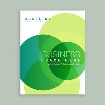 Creative business-broschüre vorlage