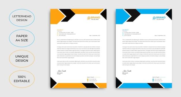 Creative business e-mail-signaturvorlage