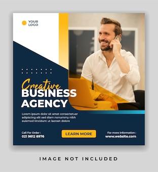 Creative business marketing social media- und instagram-banner-post-vorlage