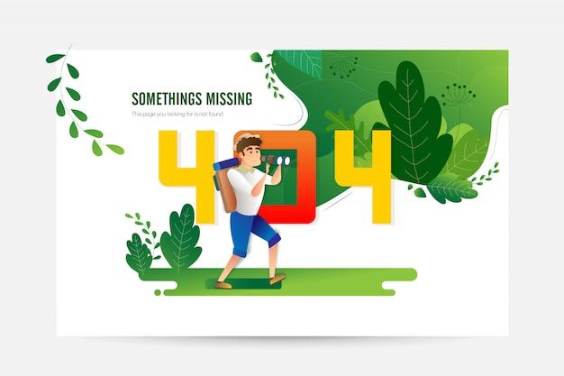 Creative-fehler 404-ladeseite