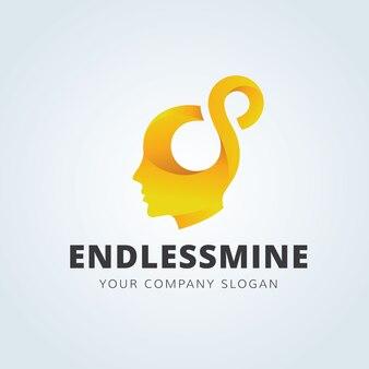 Creative mind-logo-vorlage