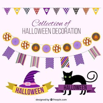 Creepy dekoration für halloween