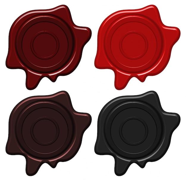 Crest wachsdichtungen in vier farben