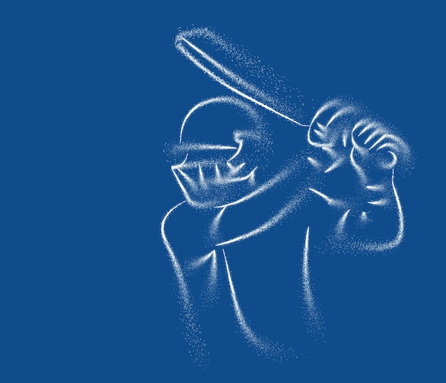 Cricket-banner-schlagmann-meisterschaftspartikel-hintergrund verwenden sie für die cover-poster-vorlage