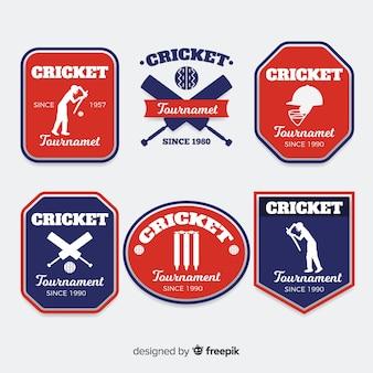 Cricket-label-sammlung