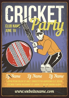 Cricket-party