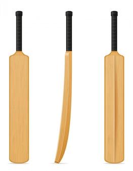 Cricket-schläger-vektor-illustration