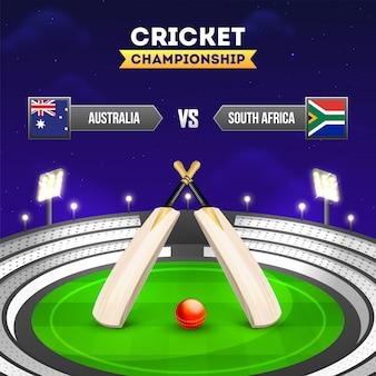 Cricket-turnierteilnehmerland australien
