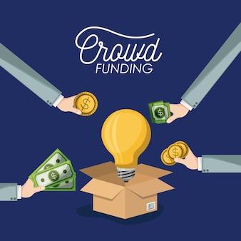 Crowdfunding-plakat