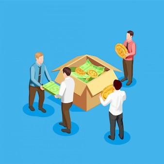 Crowdfunding und finanzen zusammensetzung