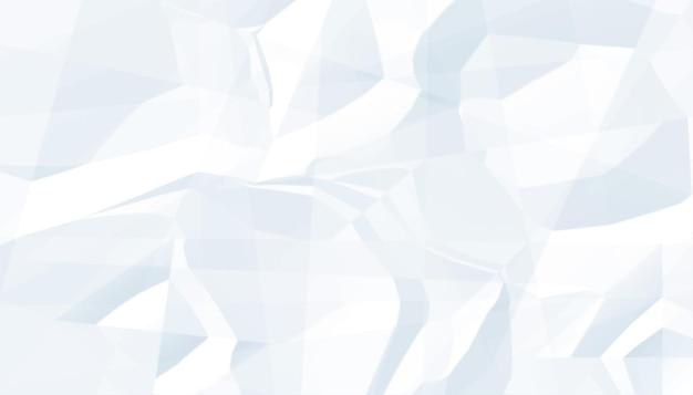 Crumples papierblatt textur leeren hintergrund
