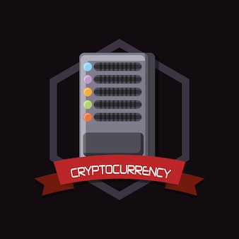 Cryptocurrency design mit datenserver