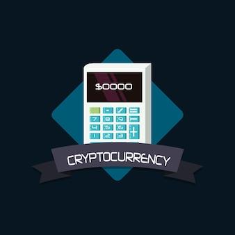 Cryptocurrency design mit taschenrechner
