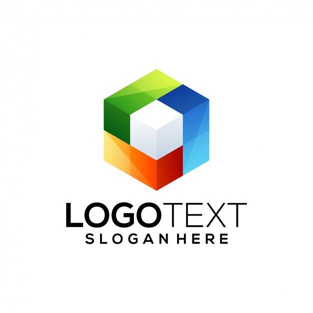 Cube-logo-vorlage
