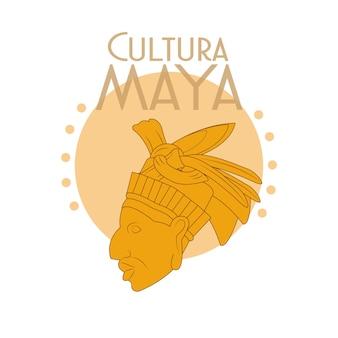 Cultura maya postkarte