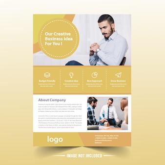 Cup kuchen web banner vorlage