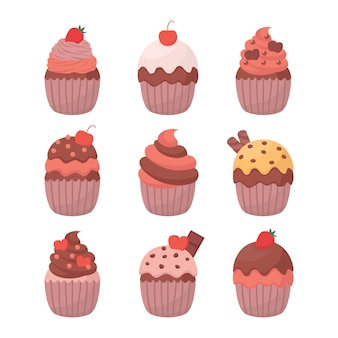 Cupcake abbildung vektor