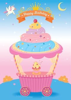 Cupcake-fantasie