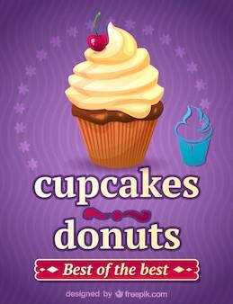 Cupcake illustration kunst