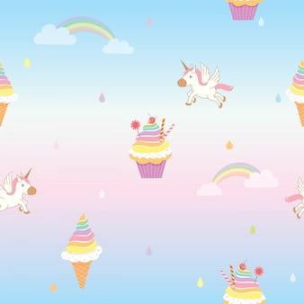Cupcake-muster