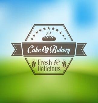 Cupcake und bäckerei-logo-design