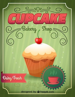 Cupcake vektor-illustration
