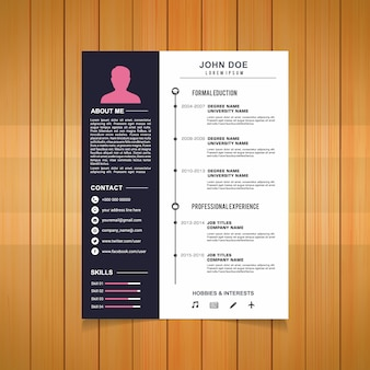 Curriculum template-design