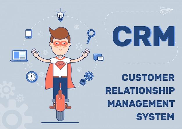 Customer relationship management-system