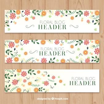 Cute floral header gesetzt