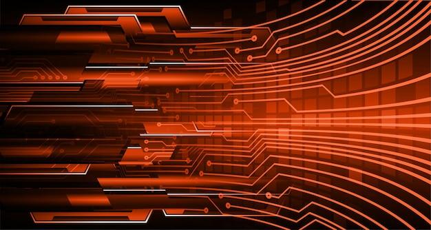 Cyber circuit future technology konzept hintergrund