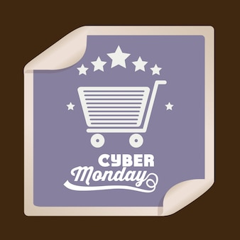 Cyber monday big sale banner