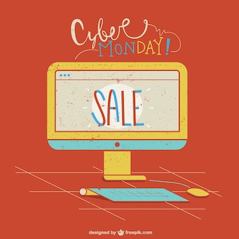 Cyber monday-computer