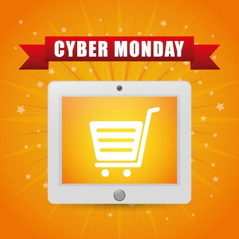 Cyber ​​monday e-commerce-design