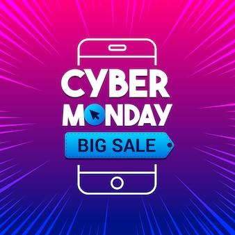 Cyber monday großer abverkauf