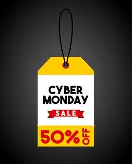 Cyber-montag-verkauf-commerce