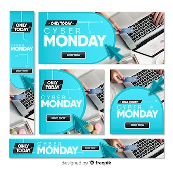 Cyber ​​montag web banner