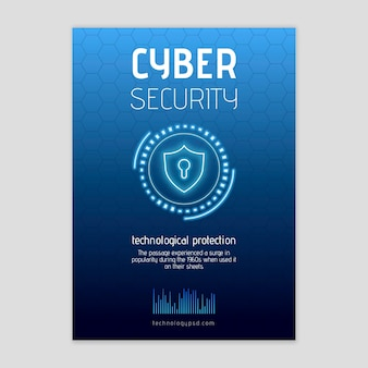Cyber security flyer v