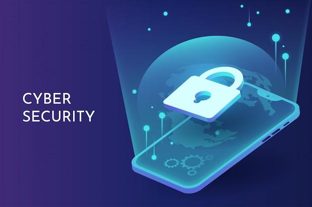Cyber-sicherheit auf dem smartphone