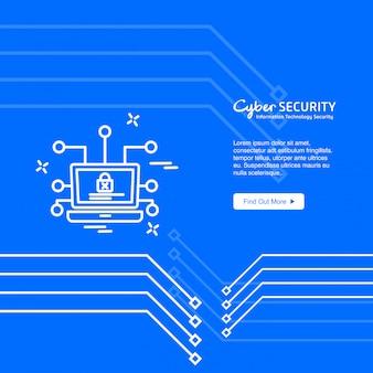 Cyber-sicherheit banner