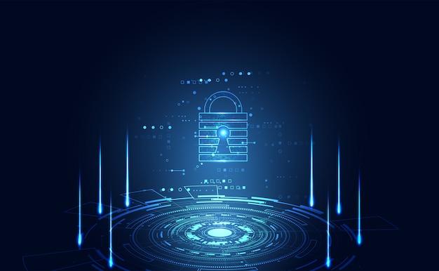 Cyber-sicherheitsdatenschutz-informationsnetz